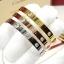 พร้อมส่ง LOVE 4 diamond Bracelet กำไลรุ่น LOVEเพชร4เม็ด ยอดฮิตตลอดกาล thumbnail 2