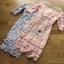 ชุดเดรสเกาหลี พร้อมส่งเดรสผ้าลูกไม้สีพาสเทลตกแต่งออร์แกนซ่า thumbnail 13
