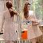 ชุดเดรสเกาหลี พร้อมส่งมินิเดรสผ้าลูกไม้ปักลายดอกไม้สีพาสเทล thumbnail 12