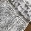 ชุดเดรสเกาหลีพร้อมส่ง เดรสชีฟองสีขาวทรงระบายเลเยอร์กระโปรงผ้าลูกไม้ thumbnail 12