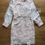 ชุดเดรสเกาหลี พร้อมส่งเดรสผ้าลูกไม้สีขาวซับในสีนู้ดตกแต่งแขนชิฟฟอน thumbnail 8