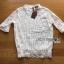เสื้อผ้าเกาหลี พร้อมส่ง เสื้อลูกไม้สีขาวผ้านิ่มใส่สบาย thumbnail 18