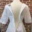 ชุดเดรสเกาหลี พร้อมส่งEmbroidered White Pearl Dress thumbnail 9