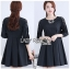 Brady Sweet & Smart Embellished Black Cotton Pleated Dress thumbnail 2