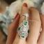 พร้อมส่ง APM Diamond Ring & Necklace งานเพชร CZ แท้ thumbnail 5