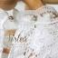 เสื้อผ้าเกาหลี พร้อมส่ง เสื้อลูกไม้สีขาว ดีเทลแขนยาว ผ้าเกรดดีเนื้อนิ่มมาก thumbnail 14