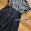 ชุดเดรสเกาหลี พร้อมส่งเดรสผ้าลูกไม้โทนสีฟ้าเทา thumbnail 15