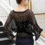 เสื้อผ้าเกาหลี พร้อมส่งSummer Luxury Pearl Top thumbnail 8