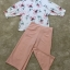 เสื้อผ้าเกาหลี พร้อมส่ง Pinky Camelia Cute Set thumbnail 8