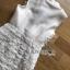 เสื้อผ้าเกาหลีพร้อมส่ง เชิ้ตเดรสตกแต่งผ้าลูกไม้ระบายตกแต่งกระดุม thumbnail 7