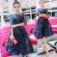 ชุดเดรสเกาหลี พร้อมส่งGalaxy Diamond Luxury Dress thumbnail 7