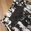 เสื้อผ้าเกาหลี พร้อมส่ง Zara White Top + Black Tiger Line Set thumbnail 11