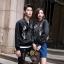 เสื้อผ้าเกาหลี พร้อมส่งเสื้อแจคเกทผ้าซาตินซิล thumbnail 2