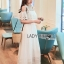 Carine Casual Chic Off-Shoulder Ruffle Maxi Dress thumbnail 2