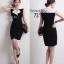 ( พร้อมส่ง ) Cliona Made ,Classic Tone Sassy & Smart Dress thumbnail 1