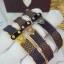 พร้อมส่ง Louis Vuitton Bracelet กำไลหลุยวิกตอง เพชรงาน stainless steel แท้สวยมากกกกก thumbnail 2