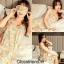 เสื้อผ้าเกาหลีพร้อมส่ง เซท 2 ชิ้น ชุดนอนสีหวานกรีดๆๆ พร้อมผ้าปิดตาเก๋ๆๆ thumbnail 5