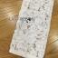 ชุดเดรสเกาหลี พร้อมส่งเดรสผ้าลูกไม้สีขาวปักลายดอกไม้สีแดงตกแต่งชายพู่ thumbnail 9