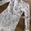 ชุดเดรสเกาหลี พร้อมส่งเดรสผ้าลูกไม้สีขาวสไตล์วินเทจ ลุคนี้เป็นสาวเฟมินีน thumbnail 12