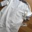 ชุดเดรสเกาหลี พร้อมส่งเดรสผ้าเดนิมฟอกสีขาวปักลายผีเสื้อตรงกลาง thumbnail 9