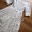 ชุดเดรสแฟชั่น พร้อมส่งเดรสผ้าลูกไม้สีขาวสไตล์เจ้าหญิงคลาสสิก thumbnail 13