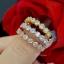 พร้อมส่ง Diamond Bracelet & Ring งาน 3 กษัตริย์ สีเงิน/ทอง/พิ้งโกลด์ thumbnail 4
