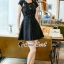 Furbelow Black Lady Dress thumbnail 4