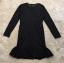 ชุดเดรสเกาหลี พร้อมส่ง minu dress งานลูกไม้สีดำลูกไม้นิ่มไม่คันค่ thumbnail 5