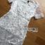 ชุดเดรสเกาหลี พร้อมส่งเดรสยาวสีขาวปักดอกเดซี่สุดหวาน thumbnail 10