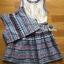เสื้อผ้าเกาหลี พร้อมส่งเซ็ตเดรสผ้าลูกไม้และผ้าพิมพ์ลายดอกไม้พร้อมเสื้อแขนกุดสั้น thumbnail 17