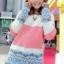 เสื้อผ้าเกาหลี พร้อมส่งเสื้อไหมพรมเนื้อหนา เนื้อดี thumbnail 3