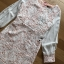 ชุดเดรสเกาหลี พร้อมส่งเดรสผ้าลูกไม้สีขาวซับในสีนู้ดตกแต่งแขนชิฟฟอน thumbnail 9