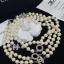 พร้อมส่ง Chanel Pearl Necklace รุ่นนี้เป็นงาน มุกญี่ปุ่นเกรดดีมาก thumbnail 3