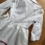 เสื้อผ้าเกาหลี พร้อมส่งเชิ้ตเดรสปักลายตกแต่งขอบสีแดงสไตล์เฟมอนีนสุดชิค thumbnail 7