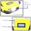 Dtech PowerBankแบตเตอรี่สำรอง รุ่น OT208 Jump Start สตาร์ทรถได้ 8000mah-Yellow thumbnail 3