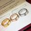 พร้อมส่ง Love4 diamond Ring แหวนรุ่นLOVE เพชร4เม็ด ฝังCZ8A thumbnail 1