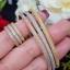 พร้อมส่ง Diamond Bracelet & Ring งาน 3 กษัตริย์ สีเงิน/ทอง/พิ้งโกลด์ สวยมาก thumbnail 5