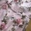ชุดเดรสแฟชั่น พร้อมส่งเดรสผ้าทูลเลปักดอกไม้กุหลาบสีชมพูทับลูกไม้สีชมพู thumbnail 11