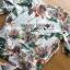 เสื้อผ้าเกาหลี พร้อมส่งเซ็ตเสื้อพิมพ์ลายดอกไม้สไตล์วินเทจและกางเกงทรง culottes ลุคนี้มาแบบเข้าชุด thumbnail 18