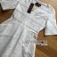 ชุดเดรสเกาหลี พร้อมส่งเดรสผ้าคอตตอนปักและฉลุลายสไตล์เบสิกเฟมินีน thumbnail 10