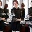 เสื้อผ้าเกาหลี พร้อมส่งเชิ้ตยาวผ้าป็อบลินคอตตอนตกแต่งแขนลูกไม้ thumbnail 9