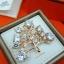 พร้อมส่ง Diamond Brooch เข็มกลัดเพชรดีไซต้นไม้งานเพชร CZ แท้ thumbnail 1