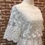 ชุดเดรสเกาหลี พร้อมส่งเดรสผ้ามุ้ง ปักลายดอกไม้ทั้งตัว thumbnail 13