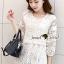 เสื้อผ้าเกาหลี พร้อมส่งเสื้อทรงสวยหวานสไตล์สาวเกาหลี thumbnail 4