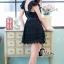 ชุดเดรสเกาหลี พร้อมส่งLuxury Lace Pricess Dress thumbnail 12
