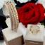 พร้อมส่ง Diamond Bracelet & Ring งาน 3 กษัตริย์ สีเงิน/ทอง/พิ้งโกลด์ thumbnail 1