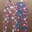เสื้อผ้าแฟชั่นเกาหลีพร้อมส่ง กางเกงขายาวเอวาสูงพิมพ์ลายกราฟฟิกดอกไม้ thumbnail 4