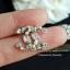 พร้อมส่ง Chanel Earring ต่างหูชาแนลงานเพชรมาคี thumbnail 4