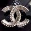 พร้อมส่ง Chanel Brooch & Earring งานเกาหลี เพชร swarovski thumbnail 2