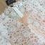 ชุดเดรสเกาหลี พร้อมส่งมินิเดรสลูกไม้สีขาว ทรงคอวี thumbnail 17